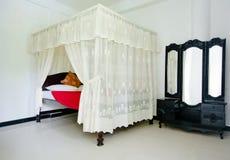 斯里兰卡的传统室内装璜 库存图片