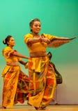斯里兰卡的传统舞蹈表现展示 免版税图库摄影