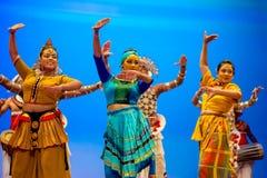 斯里兰卡的传统舞蹈表现展示 库存图片