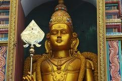 从斯里兰卡的印度寺庙的细节 免版税库存照片