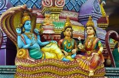 从斯里兰卡的印度寺庙的细节 免版税图库摄影
