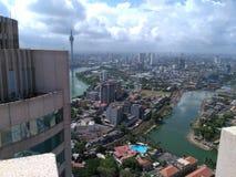 斯里兰卡的最高的地区 图库摄影