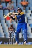 斯里兰卡的板球运动员蒂拉卡拉特内Dilshan 图库摄影