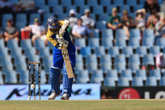 斯里兰卡的板球运动员蒂拉卡拉特内Dilshan 库存图片