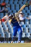 斯里兰卡的板球运动员蒂拉卡拉特内Dilshan 免版税库存图片
