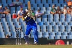斯里兰卡的板球运动员蒂拉卡拉特内Dilshan 免版税图库摄影