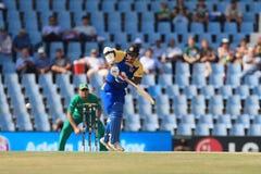 斯里兰卡的板球运动员Kumar Sangakkara 库存照片
