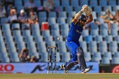 斯里兰卡的板球运动员Kumar Sangakkara 库存图片