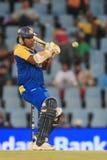斯里兰卡的板球运动员Mahela贾亚瓦德纳 免版税库存图片
