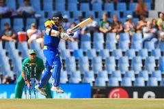 斯里兰卡的板球运动员Sanath贾亚苏里亚 库存照片
