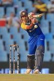 斯里兰卡的板球运动员Thilan萨马拉维拉 库存图片