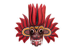 斯里兰卡的火面具 库存照片