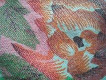 斯里兰卡的照片美好的布料艺术  库存图片
