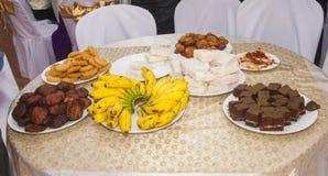 斯里兰卡的甜点 免版税库存图片