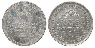 斯里兰卡硬币 图库摄影
