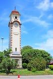 斯里兰卡科伦坡历史尖沙咀钟楼 库存图片