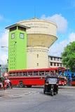 斯里兰卡科伦坡历史尖沙咀钟楼 免版税图库摄影