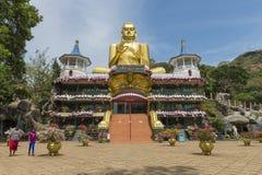 斯里兰卡金黄寺庙Dambulla 免版税图库摄影