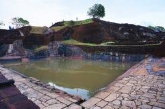 斯里兰卡锡吉里耶狮子岩石 库存图片