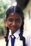 斯里兰卡HIKKADUWA学校CHILDERN 免版税库存照片