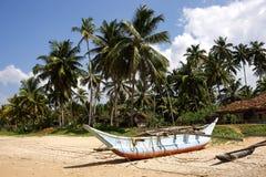 斯里南卡海滩 库存图片