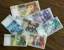 斯洛伐克冠 免版税图库摄影
