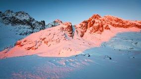 斯洛伐克山。 免版税库存照片
