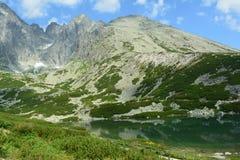 斯洛伐克山 库存照片