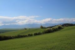 斯洛伐克横向 图库摄影