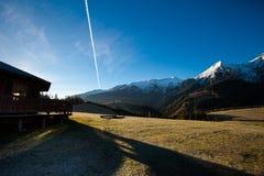 斯洛伐克的Belianske Tatry山风景 图库摄影