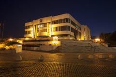 斯洛伐克议会大厦在布拉索夫 免版税库存图片