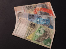 斯洛伐克货币 免版税图库摄影