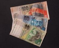 斯洛伐克货币 库存图片