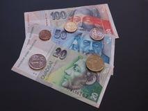 斯洛伐克货币 免版税库存图片