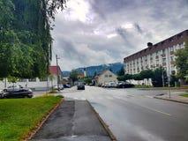 斯洛文尼亚天空 图库摄影