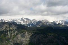 斯洛文尼亚阿尔卑斯 免版税库存照片