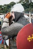1066黑斯廷斯战役 免版税图库摄影