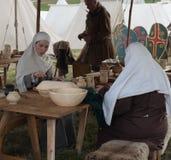1066黑斯廷斯战役 免版税库存照片