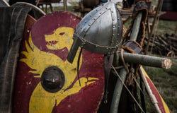 1066黑斯廷斯战役 免版税库存图片