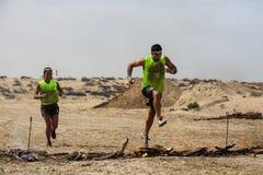 斯巴达种族迪拜 免版税库存照片
