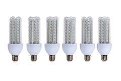 新一代LED灯系列  免版税库存照片