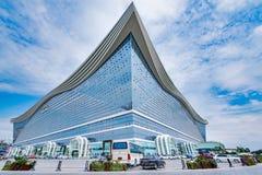 新世纪金融公司全球性中心 库存图片
