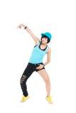 新中断舞蹈演员 库存图片