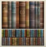书架背景 免版税图库摄影