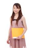 新亚裔女实业家 免版税图库摄影