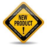 新产品符号 免版税库存图片