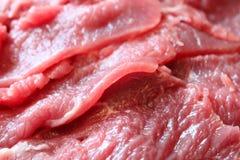 新伐牛肉 库存图片