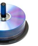 新光盘的dvd 免版税库存图片