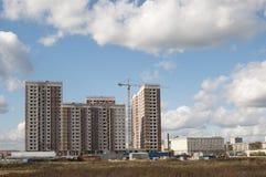新公寓的建筑 图库摄影