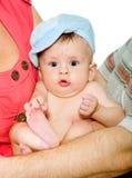新出生查出的孩子 库存图片